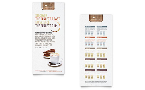 Free Rack Card Template  Sample Rack Card  Examples