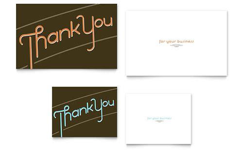 Doc626626 Thank You Card Template Free Download Thank you – Thank You Card Templates Free Download