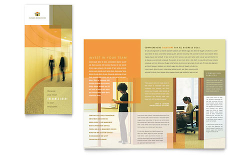 Free Brochure Templates Download Brochure Designs - Consulting brochure template