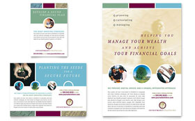 Financial Planning & Consulting - Print Ad Template