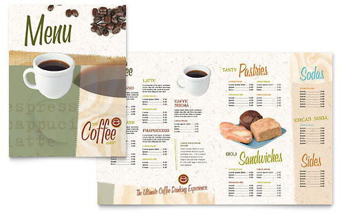 Free Menu Template  Sample Restaurant Menu  Examples
