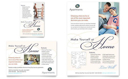 Free print ad template sample print ad examples for Free print ad templates