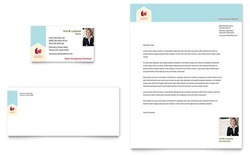 Free letterhead templates download letterhead designs home real estate letterhead template spiritdancerdesigns Images