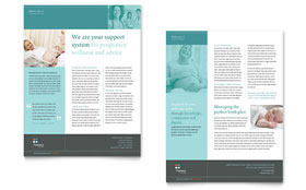 Pregnancy Clinic - Datasheet Sample Template