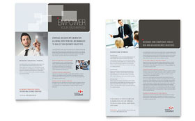 Corporate Business - Datasheet Sample Template