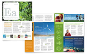 Environmental & Agricultural Non Profit - Newsletter Sample Template